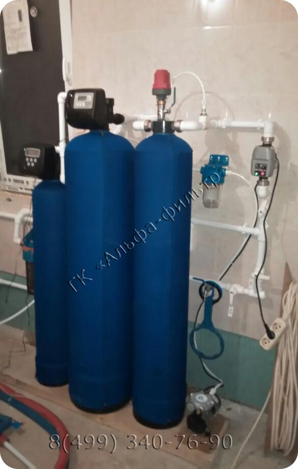 обезжелезивание воды с умягчением