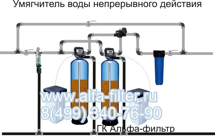 умягченной воды установка